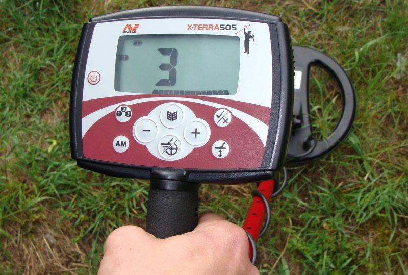Металлоискатель минелаб x terra 505. основные характеристики.