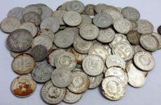 «Этот волшебный звук» — рассказ о находке небольшого клада монет СССР