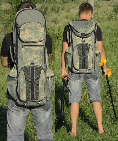 Какой рюкзак для металлоискателя будет лучше?блог кладоиска.