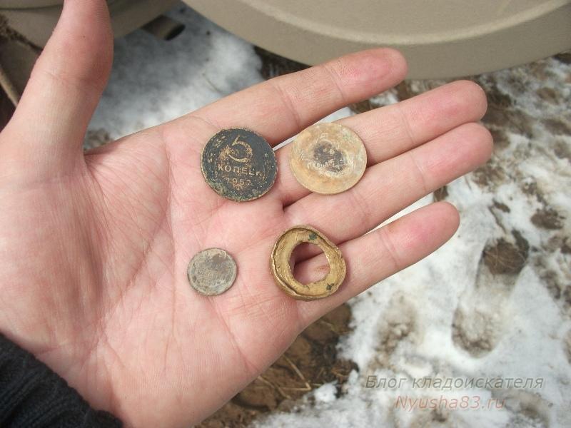 находки - монеты ссср